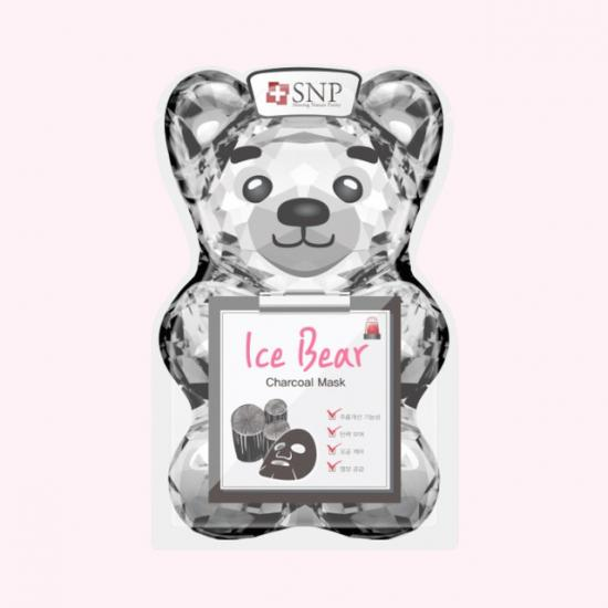 SNP Ice Bear Charcoal Mask - Maseczka...