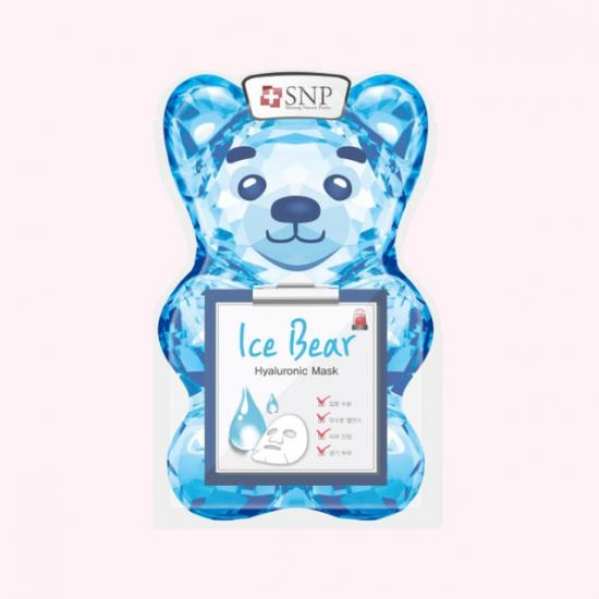 SNP Ice Bear Hyaluronic Mask -...
