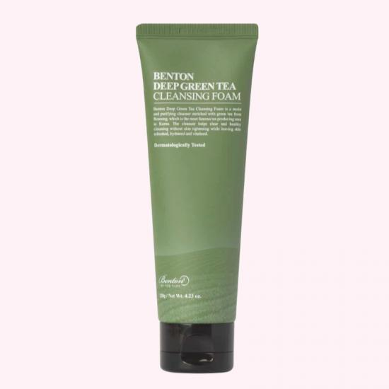 BENTON Deep Green Tea Cleansing Foam...