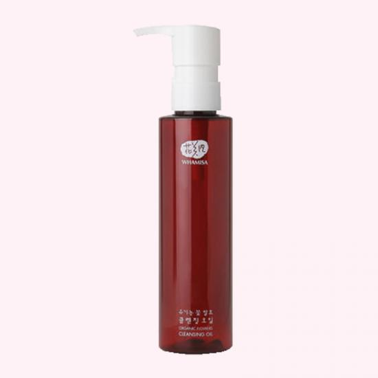 WHAMISA Organic Flowers Cleansing Oil...