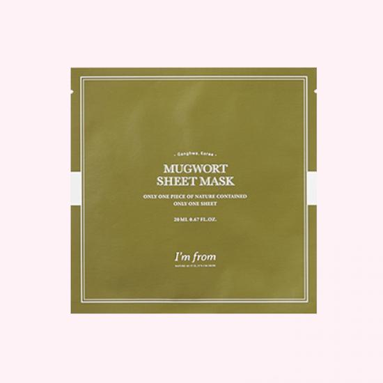 I'M FROM Mugwort Sheet Mask...