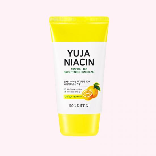 SOME BY MI Yuja Niacin Mineral 100 Suncream SPF 50+ PA++++