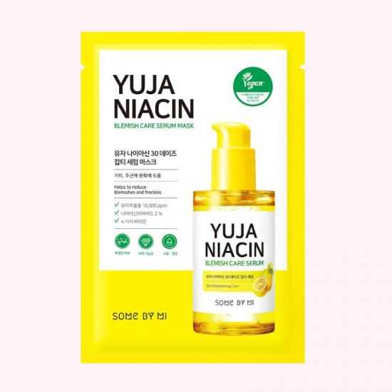 SOME BY MI Yuja Niacin 30 Days Blemish Care Mask