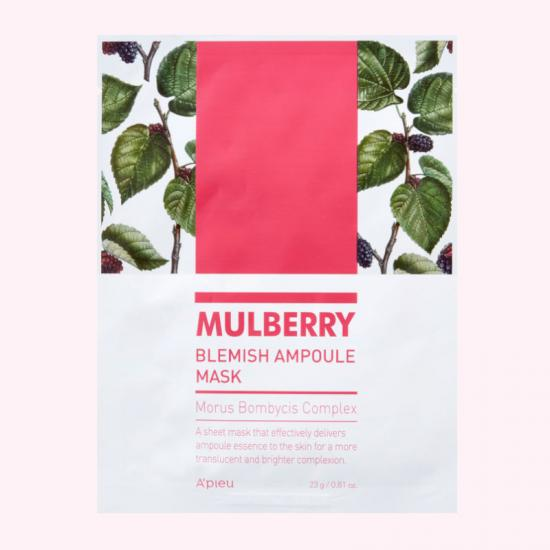 A'PIEU Mulberry Blemish Ampoule Mask...