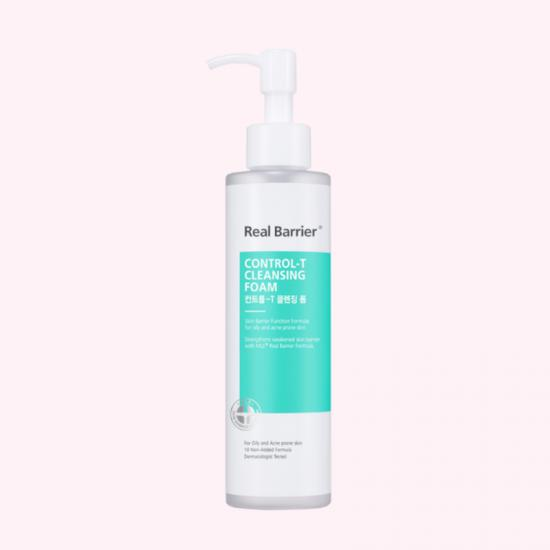 REAL BARRIER Control-T Cleansing Foam...