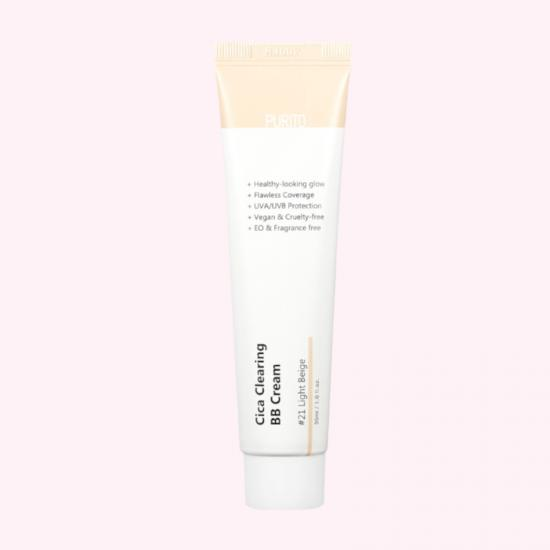 PURITO Cica Clearing BB Cream...