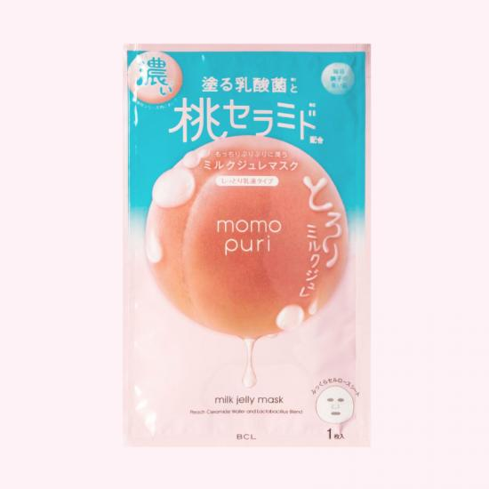 MOMO PURI Milk Jelly Mask - Żelowa...