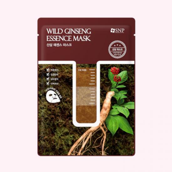 SNP Wild Ginseng Essence Mask -...