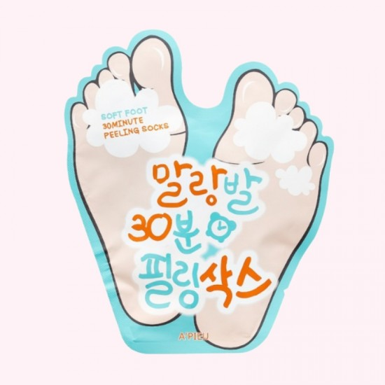 A'PIEU Soft Foot Peeling Socks -...