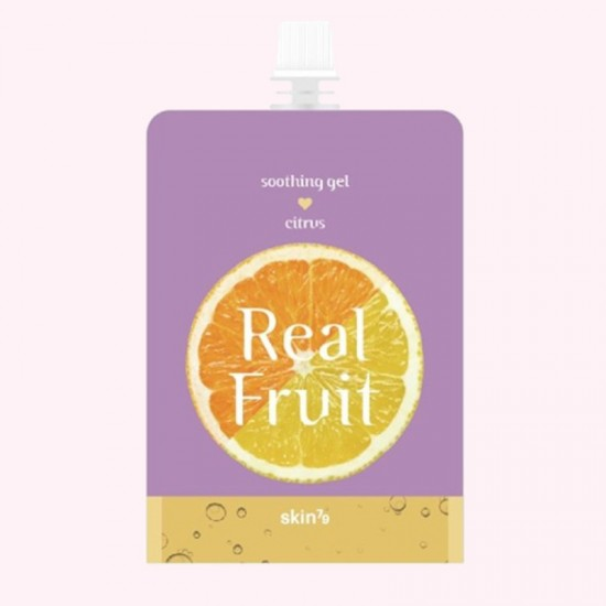 SKIN79 Real Fruit Soothing Gel Citrus...