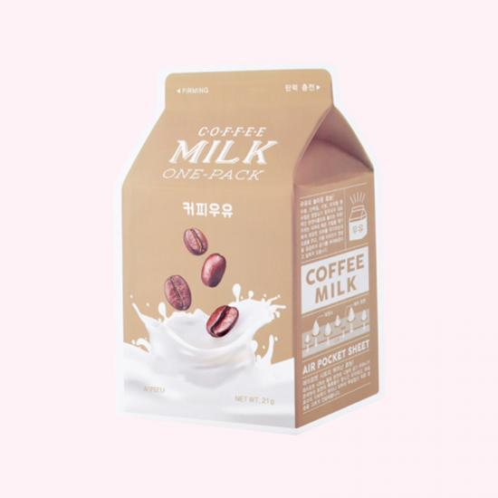 A'PIEU Coffee Milk One Pack Mask -...