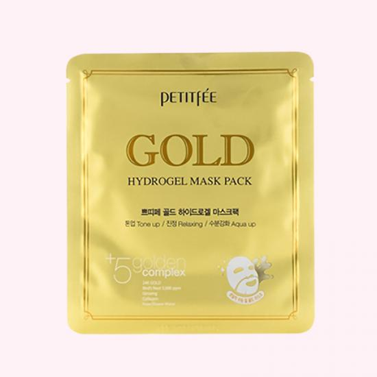 PETITFEE Gold Hydrogel Mask Pack -...